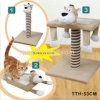 China Whole sale Cat tree with animal shape head for sale