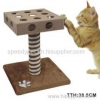 China Woodern Cat Tree with IQ Toys for sale