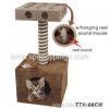 China Cat scratcher tree with IQ box for sale