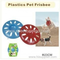 China Plastic Pet Frisbee Toys on sale