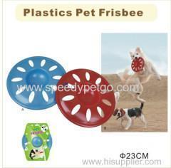 China Plastic Pet Frisbee Toys on sale