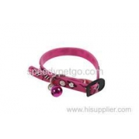 Adjustable Elastic band wholesale Pet Collar with bell