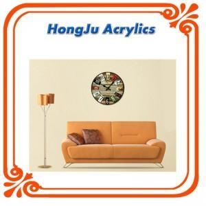 China acrylic decorative wall clock on sale