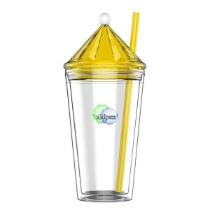 China plastic tumbler cups with straw for kids on sale