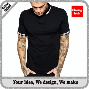 China cheap polo shirts for men slim fit on sale