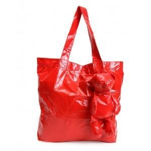 China Red Foldable Bear Shopping Bags on sale