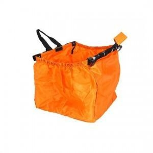 China Orange Foldable Shopping Cart Bag on sale
