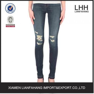 China Denim jeans wholesale with good price on sale
