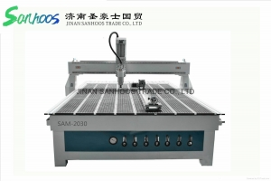 China SAM CNC Router With Rotary For Door SAM-2030 on sale