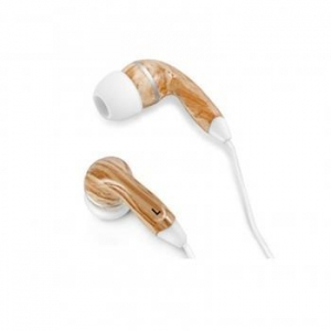 China Graphic Collection Wood Headphones- White on sale