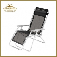 Textilene garden recliner chair
