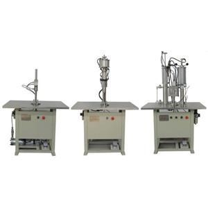 China Semi-automatic Aerosol Filling Machine on sale