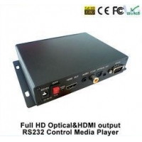 5.1 Full HD Streaming Audio Digital Signage Media Player For Hospital