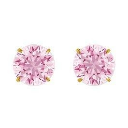 China October Birthstone Studs for Little Girls on sale