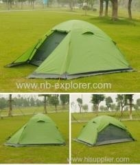 China Ripstop 210T fabrics backpacking tent on sale