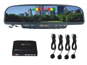 China Wireless rearview Parking Sensor with hands free kit on sale