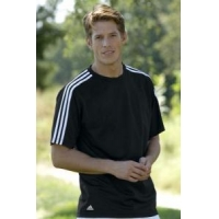 adidas ClimaLite 3-Stripes Golf Tee Shirt