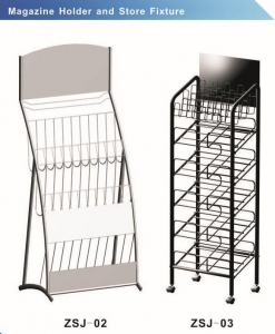 China Magazine holder and Store fixture on sale