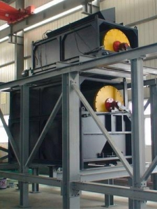 China QJ-FK-series dry permanent-magnet separator for fine ore on sale