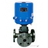 China electric O-type 3-way ball valve for sale