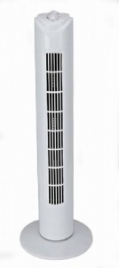 China Standing Oscillating Tower Fan / Oscillating vertical fans with double control switch on sale