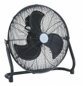 China Desk Black Fan /Floor Fan Black 3-Speed 20 on sale
