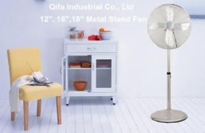 China Chrome Pedestal Fan, Bronze Copper Pedestal Fan -16 Inch on sale