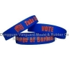 China SW-109 Color filled silicone bracelet for sale