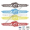 China SW-137 Silicone hollow wristband for sale