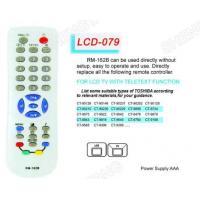 LCD RM-162B Universal remote control Toshiba/Philips
