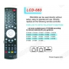 China LCD RM-D809 Universal remote control Sony/Panasonic for sale