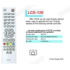 China LCD RM-175CH Universal remote control Sony/Panasonic for sale