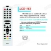 China LCD RM-588C Universal remote control Sony/Panasonic for sale