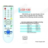 China LCD RM-840N TV/DVB/SAT/DVD Universal remote control for sale