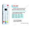 China LCD RM-PH07 TV/DVB/SAT/DVD Universal remote control for sale