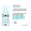 China LCD RM-D622 TV/DVB/SAT/DVD Universal remote control for sale