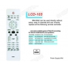 China LCD RM-D692 TV/DVB/SAT/DVD Universal remote control for sale