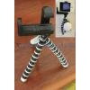 China Portable flexible leg tripod + SMALL camera/phone holder for sale