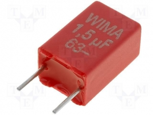 China Oil poliester capacitors 1.5uf-63v on sale