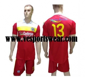 China 2014 New sublimation soccer jersey on sale
