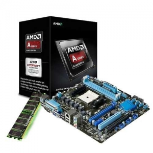 China AMD A10-6800K(CPU+GPU) Quad-Core 4.1GHz +ASUS Motherboard + Kingston DDR3 8GB Memory Bundle on sale
