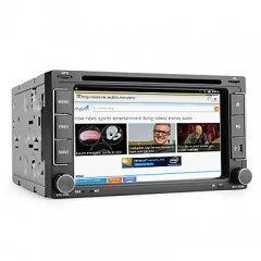 China Android 6.2 Inch 2Din Car DVD Player with GPS, ISDB-T, Wifi, 3G on sale
