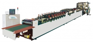 China HL0400A6 (Three-side sealing, Stand-up, Zipper and Bottom Gusset Plastic Bag Making Machine) on sale