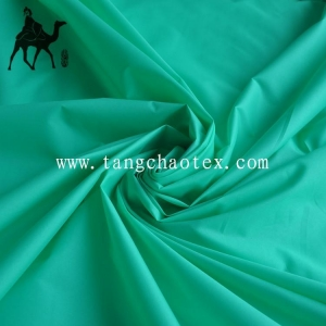 China 300T recycle polyester Taffeta fabric with PU coated for jacket and waterproof bags on sale