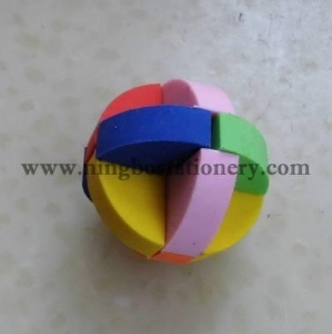 China Magic cube shaped 3D eraser A0041 on sale