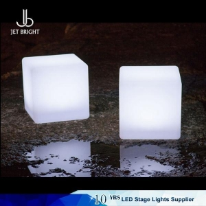 China Led furniture Glowing led cube on sale