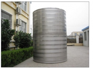 China Acceptance check of Mingxing stainless steel cylinder water tank on sale