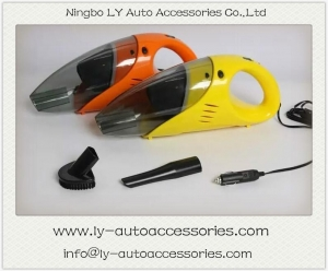 China Car Vacuum Cleaner 60W portable dry wet amphibious car vacuum cleaner with light on sale