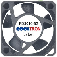 Fan / Blower FD3010-82 SeriesDC AXIAL FAN 30 x 30 x 10mmAir Flow:3.00 ~ 4.90 CFM