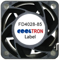 Fan / Blower FD4028-85 SeriesDC AXIAL FAN 40 x 40 x 28mmAir Flow:19.30 ~ 26.80 CFM